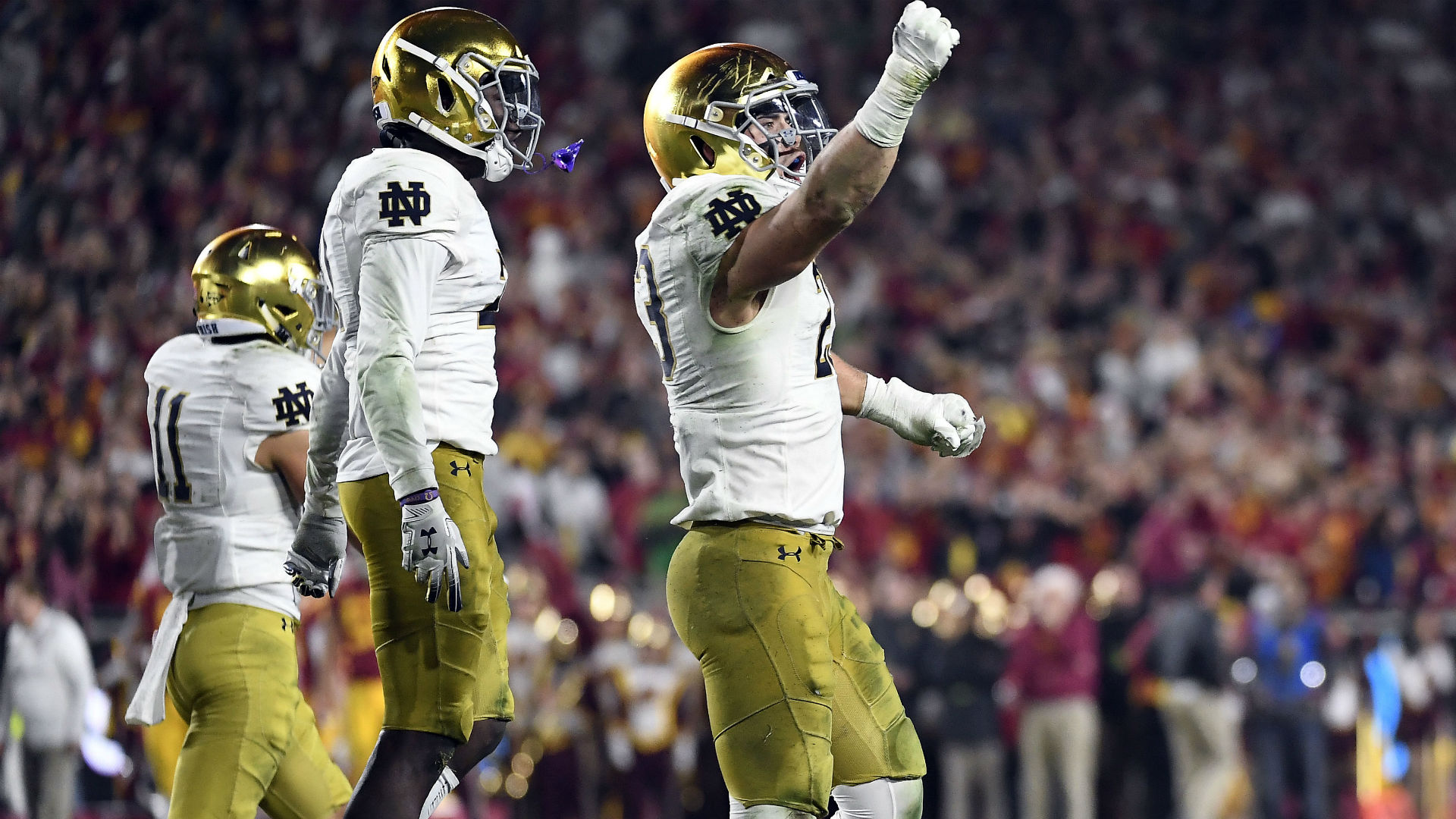 Three takeaways from No. 3 Notre Dame's win over USC