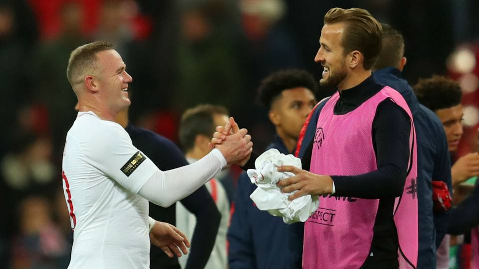 Kane targets Rooney's England goals record – 'It's definitely possible'