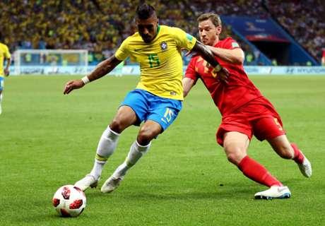 Paulinho: Brazil exit tougher than in 2014