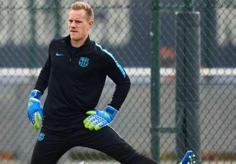 Ter Stegen, Masch back for Barca