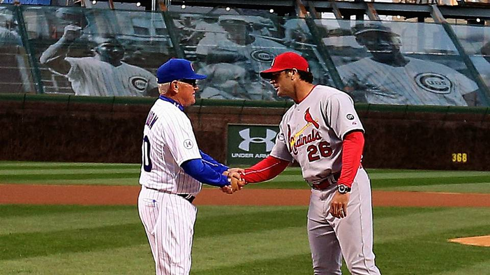 Joe Maddon and Mike Matheny