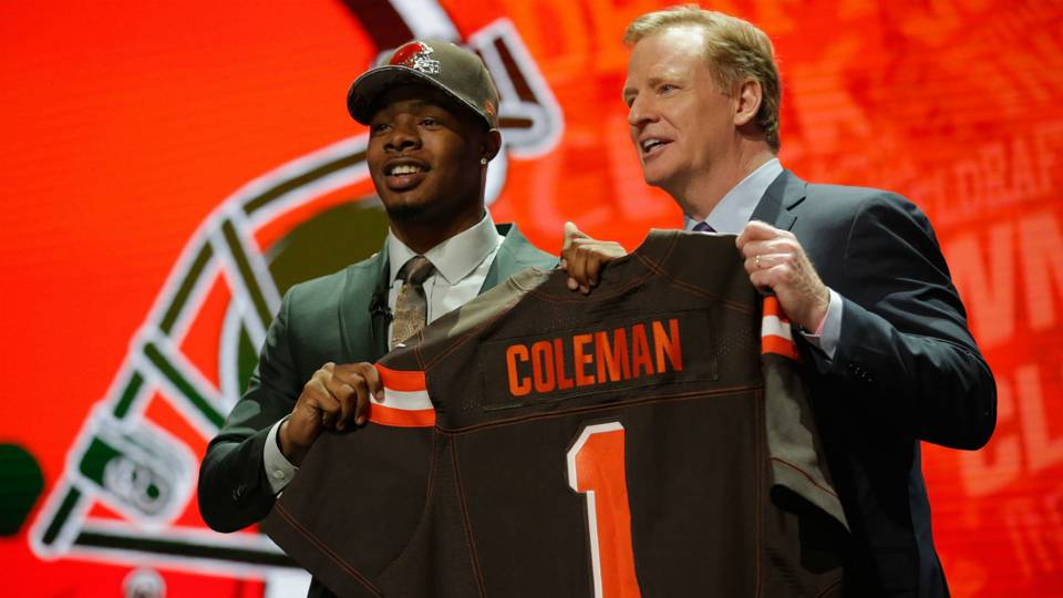 Browns draftee Corey Coleman  confident  in RG3 f7842df73