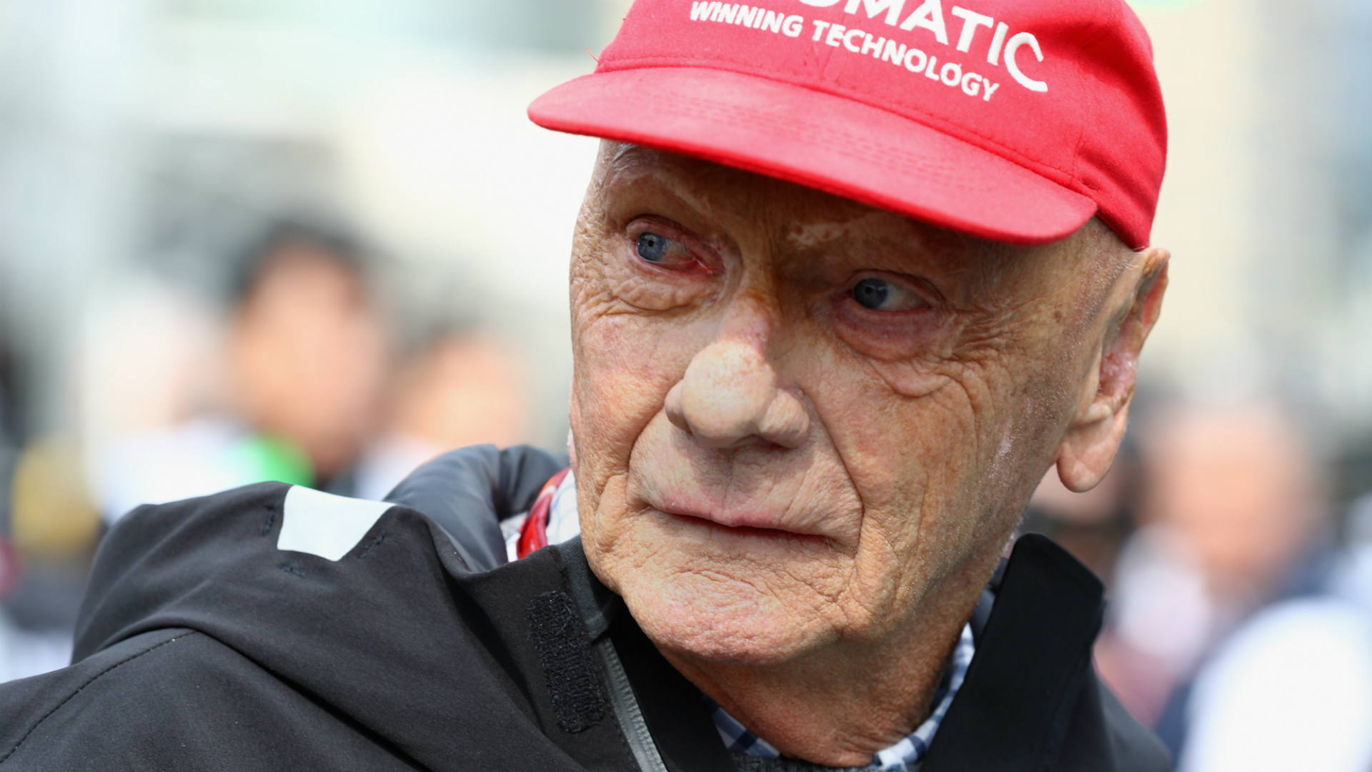 Former F1 driver and three-time world champion Niki Lauda