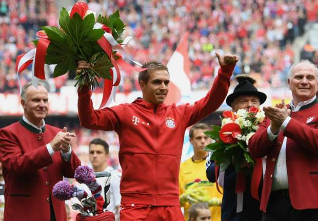 Bayern Munich captain Philipp Lahm's farewell presentation
