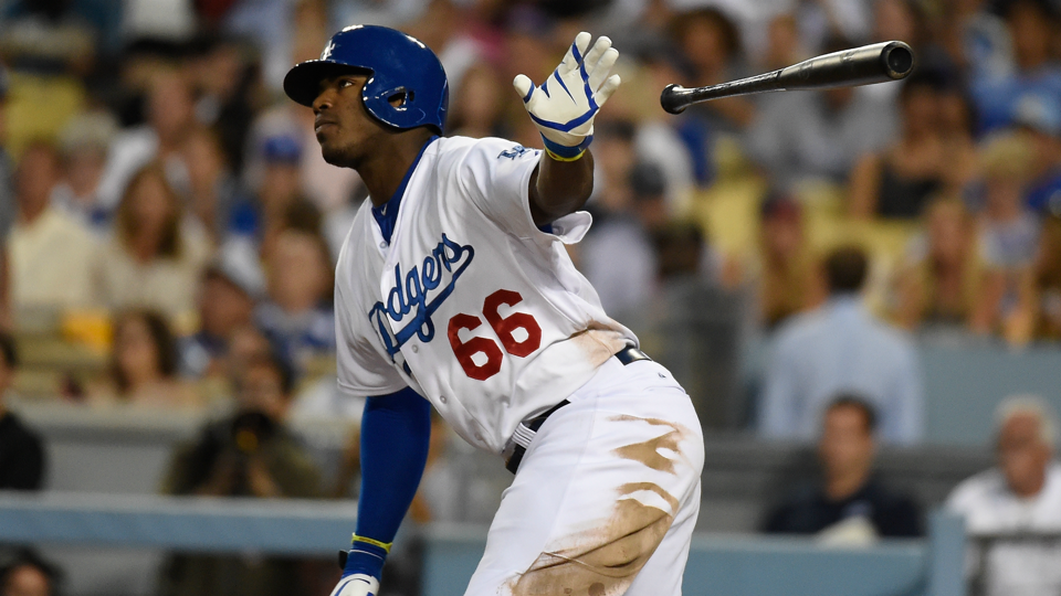 Dodgers' Yasiel Puig plans to cut down on trademark bat ...