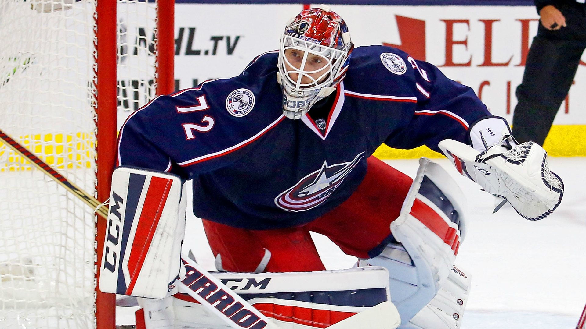 Columbus Blue Jackets sit goaltender Sergei Bobrovsky due to 'internal matter'