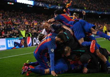 Barcelona fined for pitch invasion