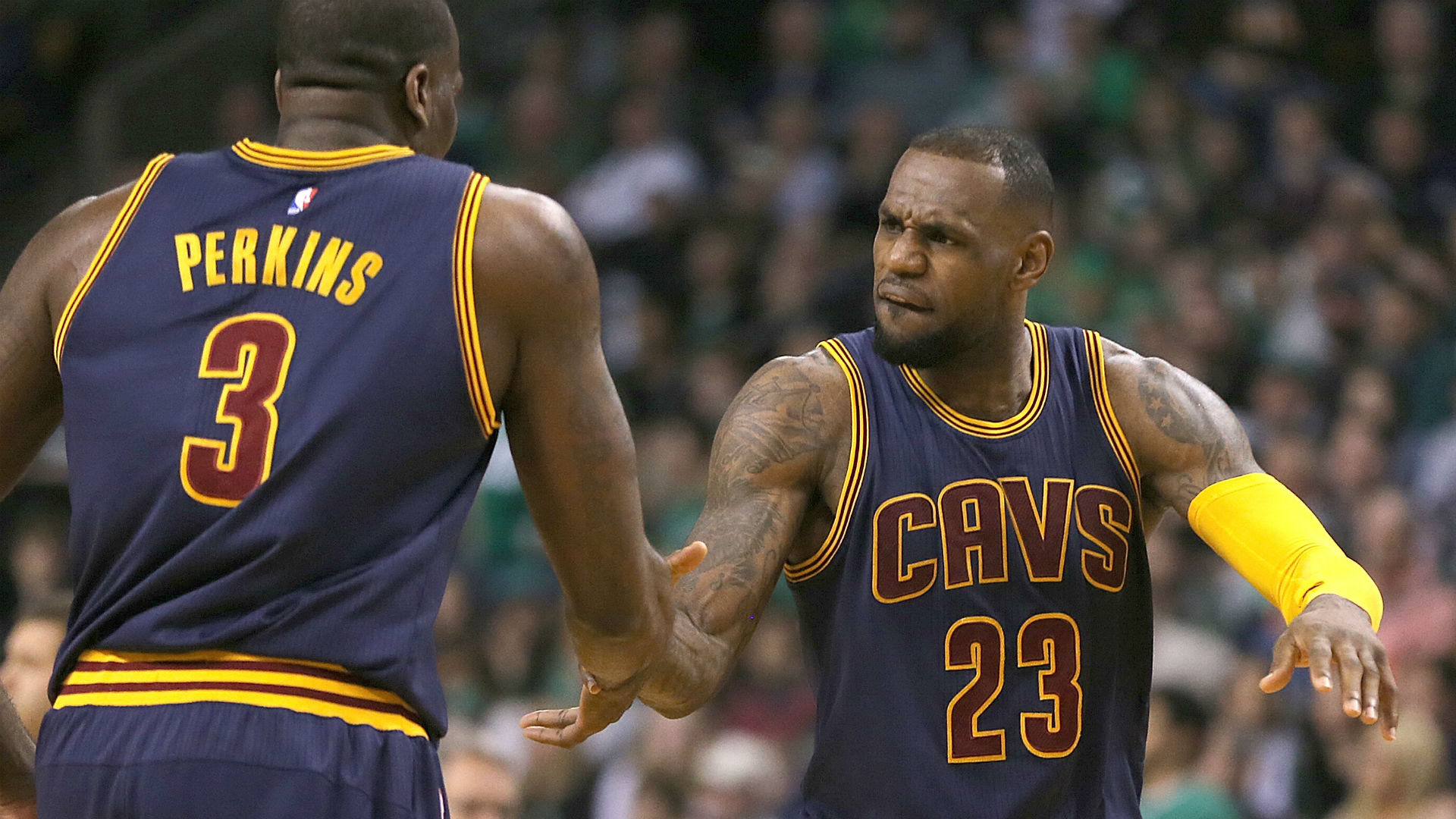 Cavs teammates vouch for LeBron James as 'arguably' greatest ever