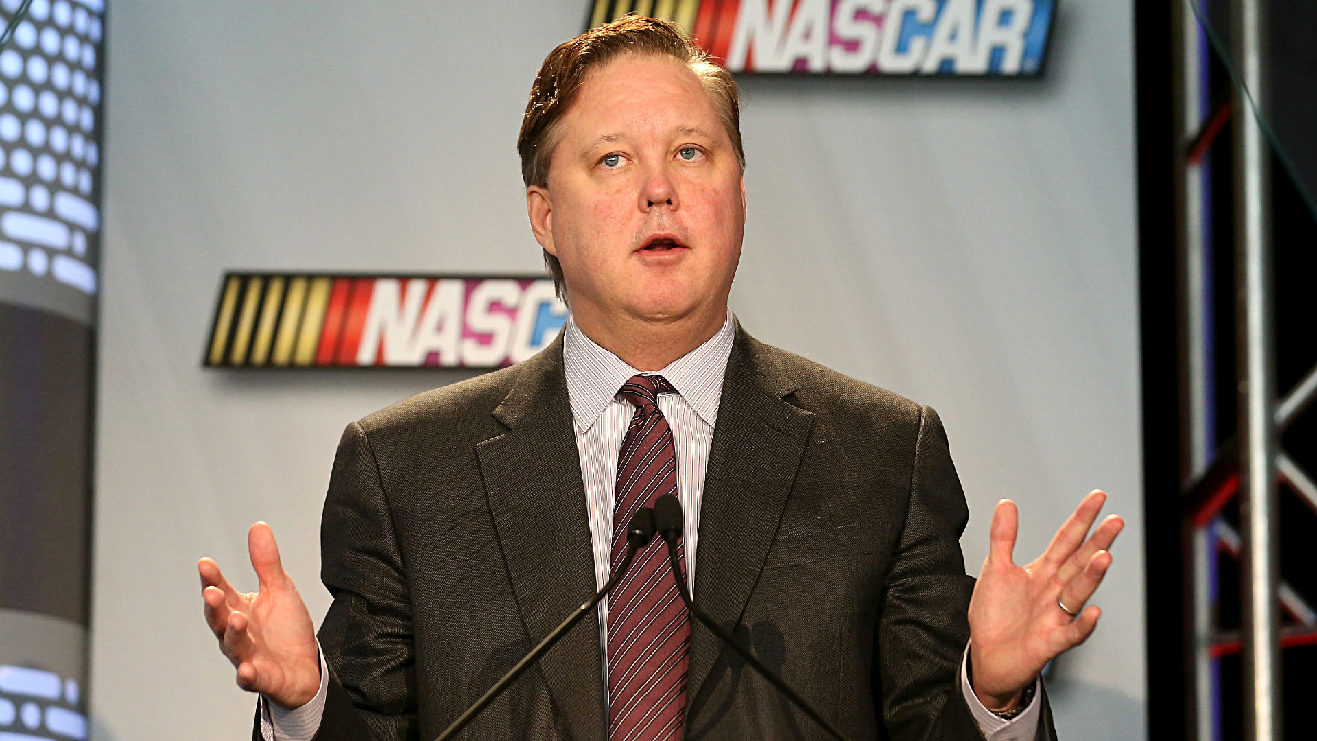 Brian France on Austin Dillon wreck: 'When we have a problem, we solve it'