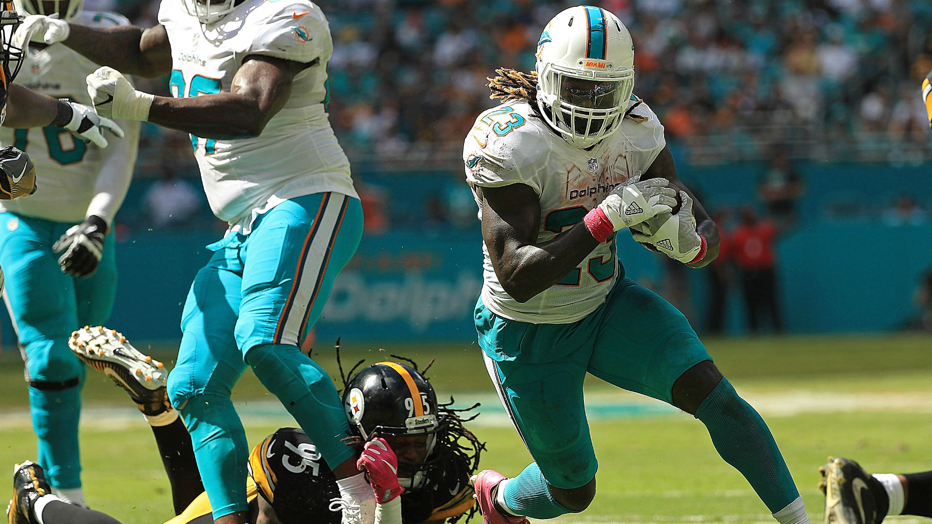 NFL trade deadline Dolphins deal Jay Ajayi to Eagles for draft