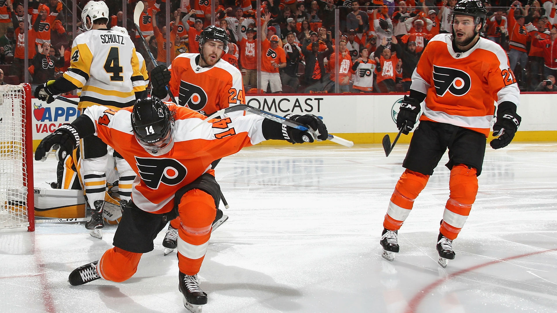 Flyers beat Penguins, force Game 6