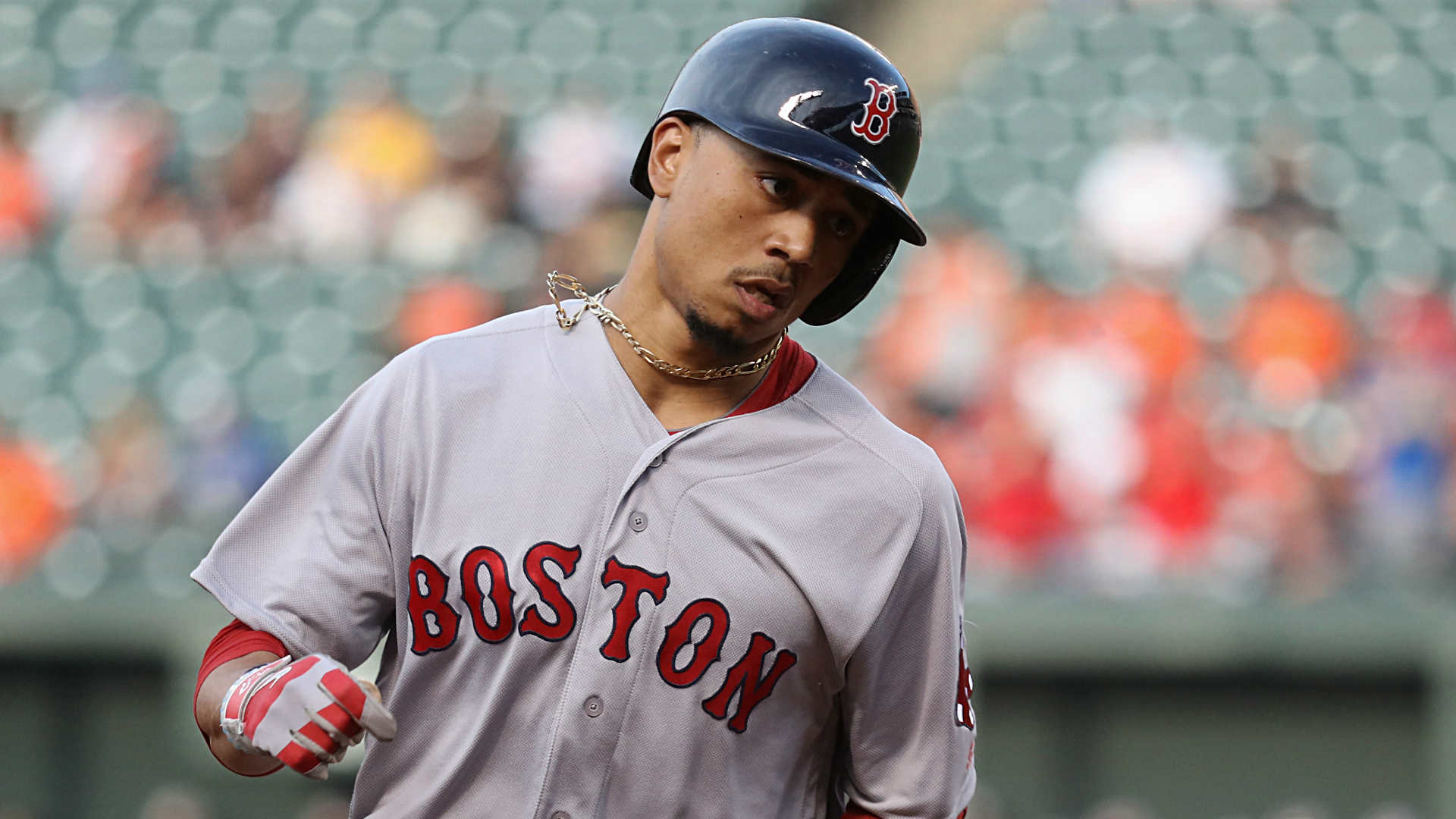Mookie Betts injury update: Red Sox' star placed on 10-day DL with abdominal strain