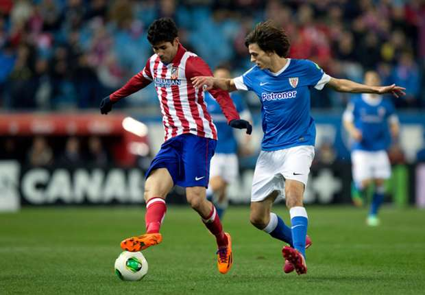 Atletico Madrid 1-0 Athletic Bilbao: Godin secures first-leg advantage