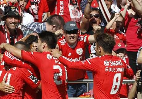 Benfica retain Primeira Liga title