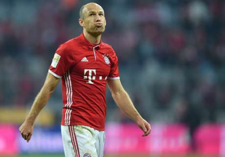 Robben ready to start for Bayern