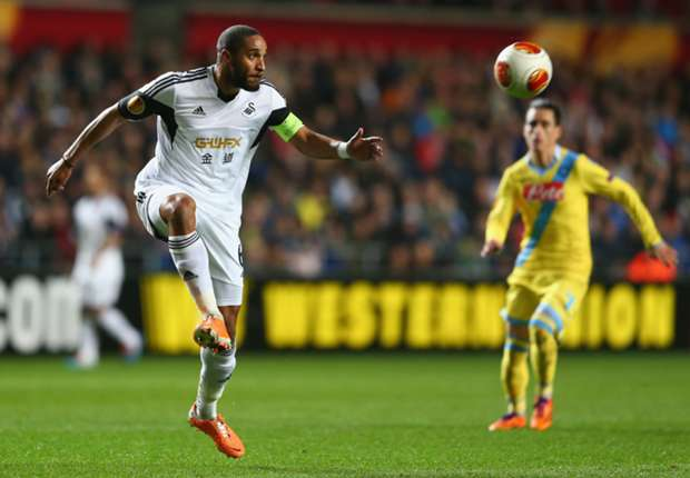 Swansea captain Williams 'ready to talk' to Napoli, says agent
