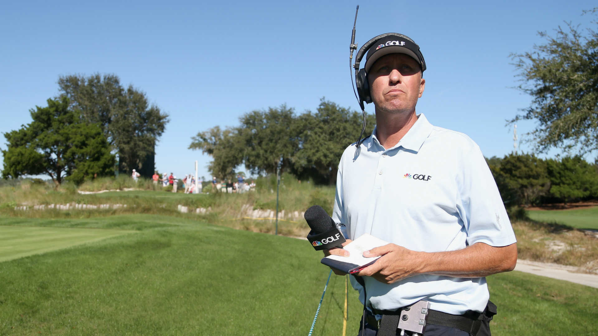 Jim 'Bones' Mackay to work as on-course reporter for NBC