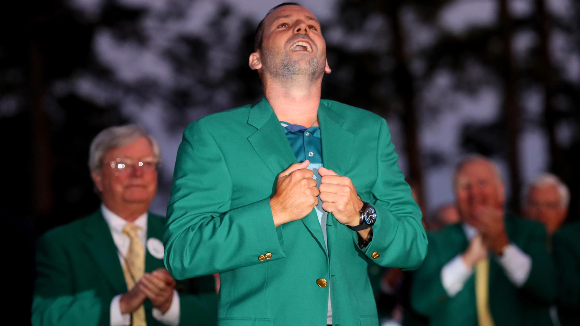 Garcia, Rose eye green jackets as Masters drama unfolds