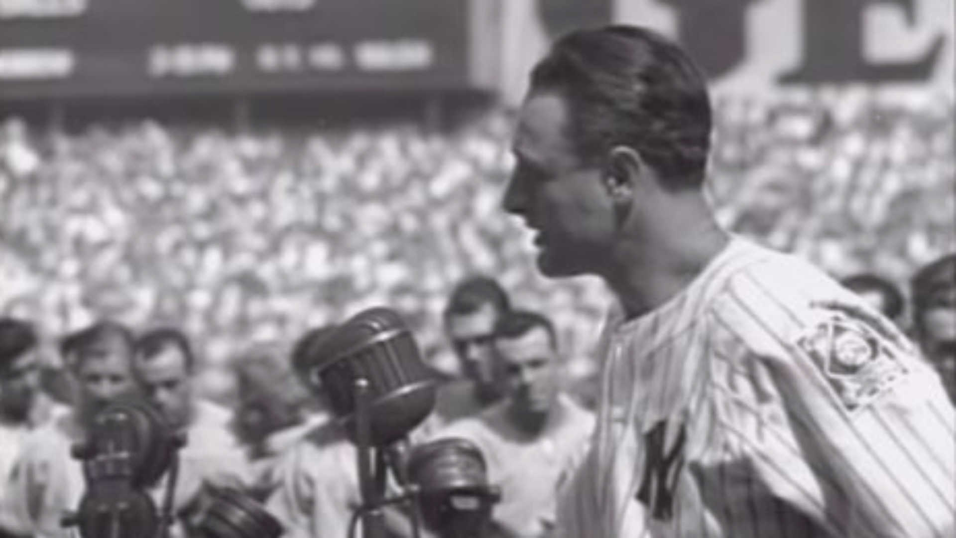 lou gehrig s farewell speech This libguide is designed for professor o'brien-smith's esl 030 classes the guide will lead you to resources for each part of your project about lou gehrig's disease.