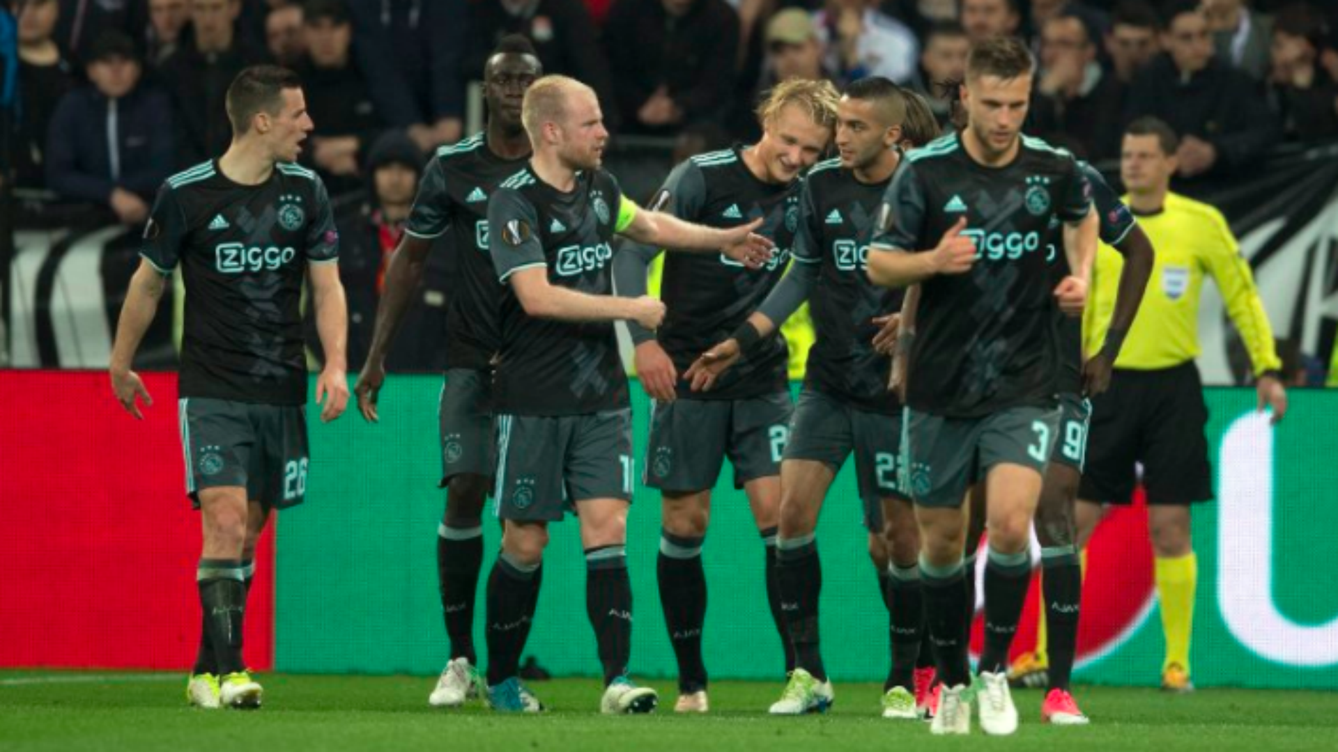 Ajax into Europa League final