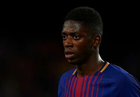 Dembélé werkt aan herstel bij Barcelona