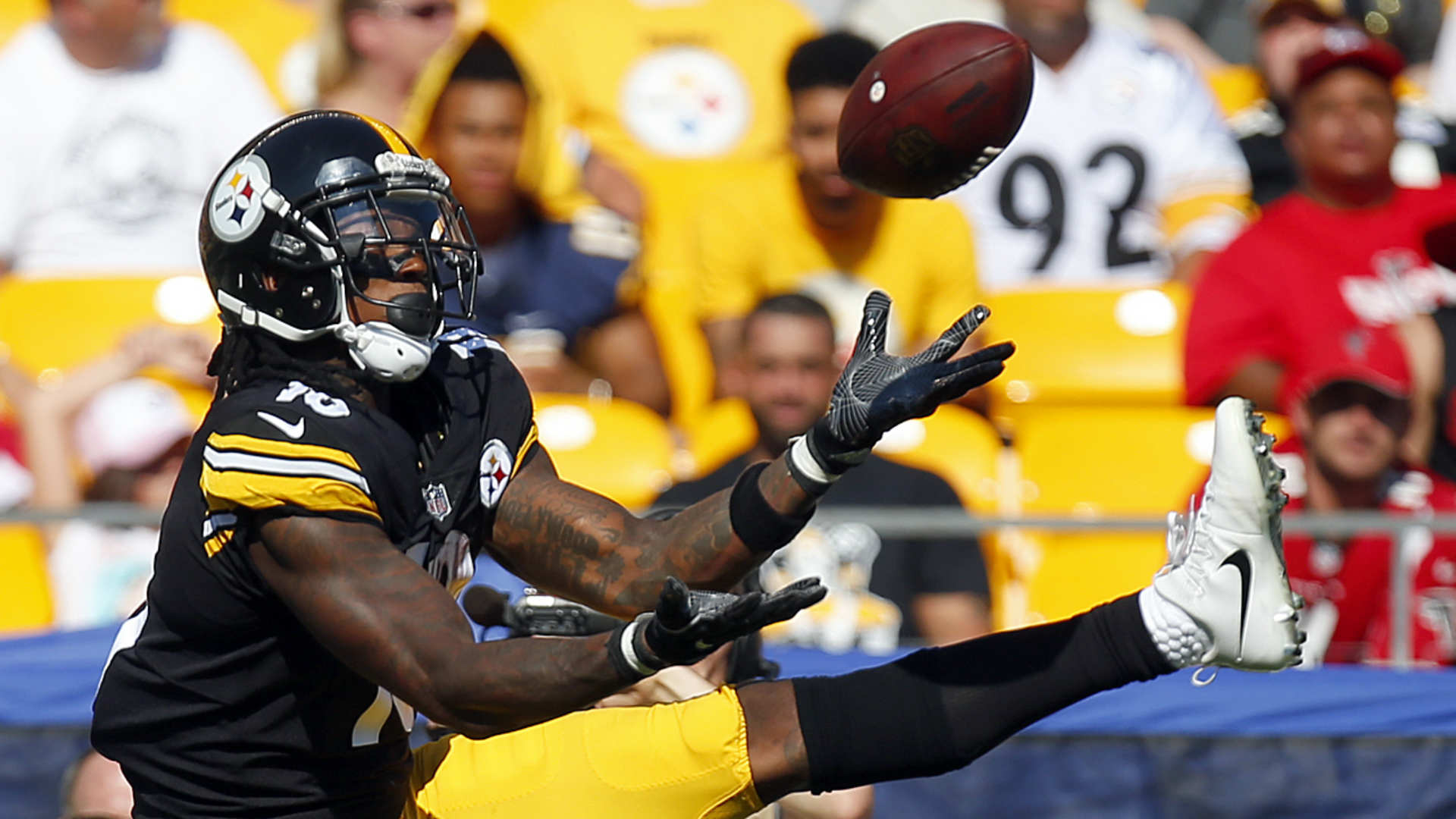 Steelers receiver Martavis Bryant cleared for regular season by