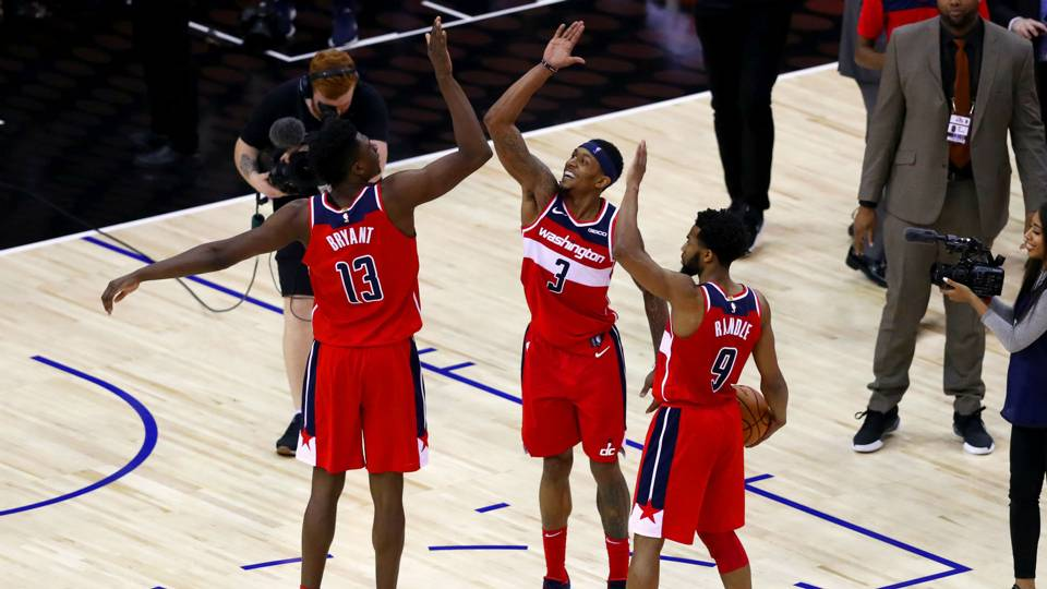 Is Bradley Beal better without John Wall  Wizards star says it s   absolutely nonsense  03bfd676e