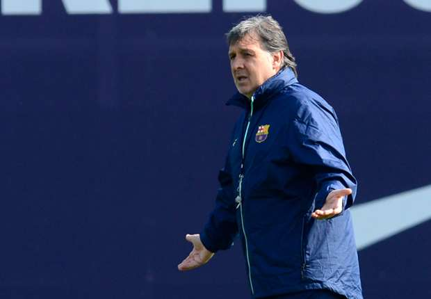 Barcelona slam Martino exit rumours