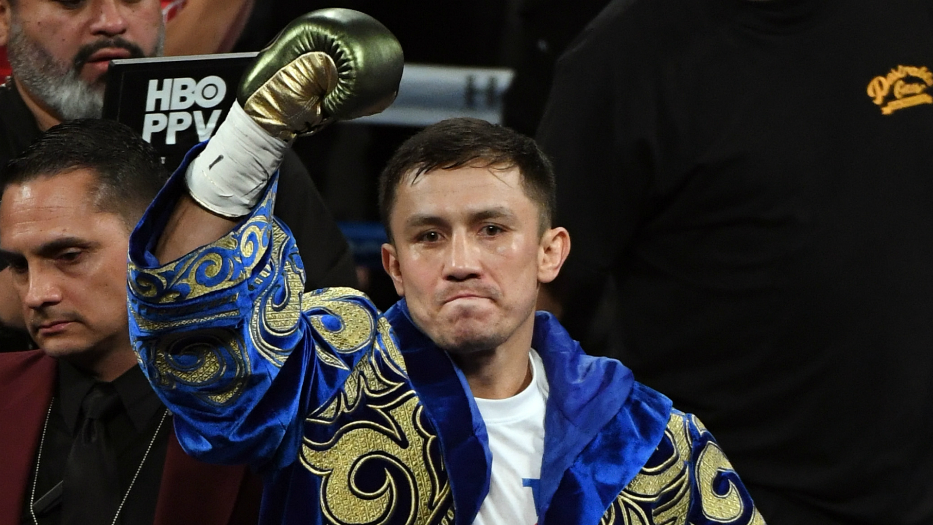 Gennady Golovkin ties record in devastating second-round KO against Vanes Martirosyan