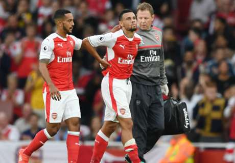 Coquelin facing three weeks out