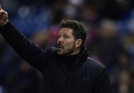 Simeone praises Atletico precision