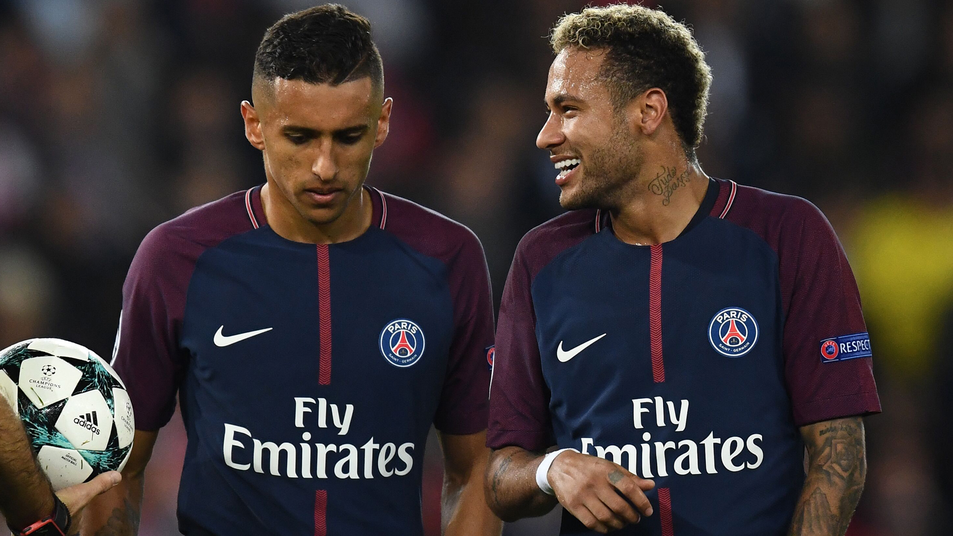 Marquinhos excited for Neymar PSG return