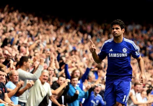 Chelsea 3-0 Aston Villa: Diego Costa sigue marcando diferencias