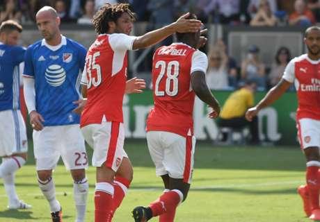 MLS All-Stars 1-2 Arsenal: Late winner