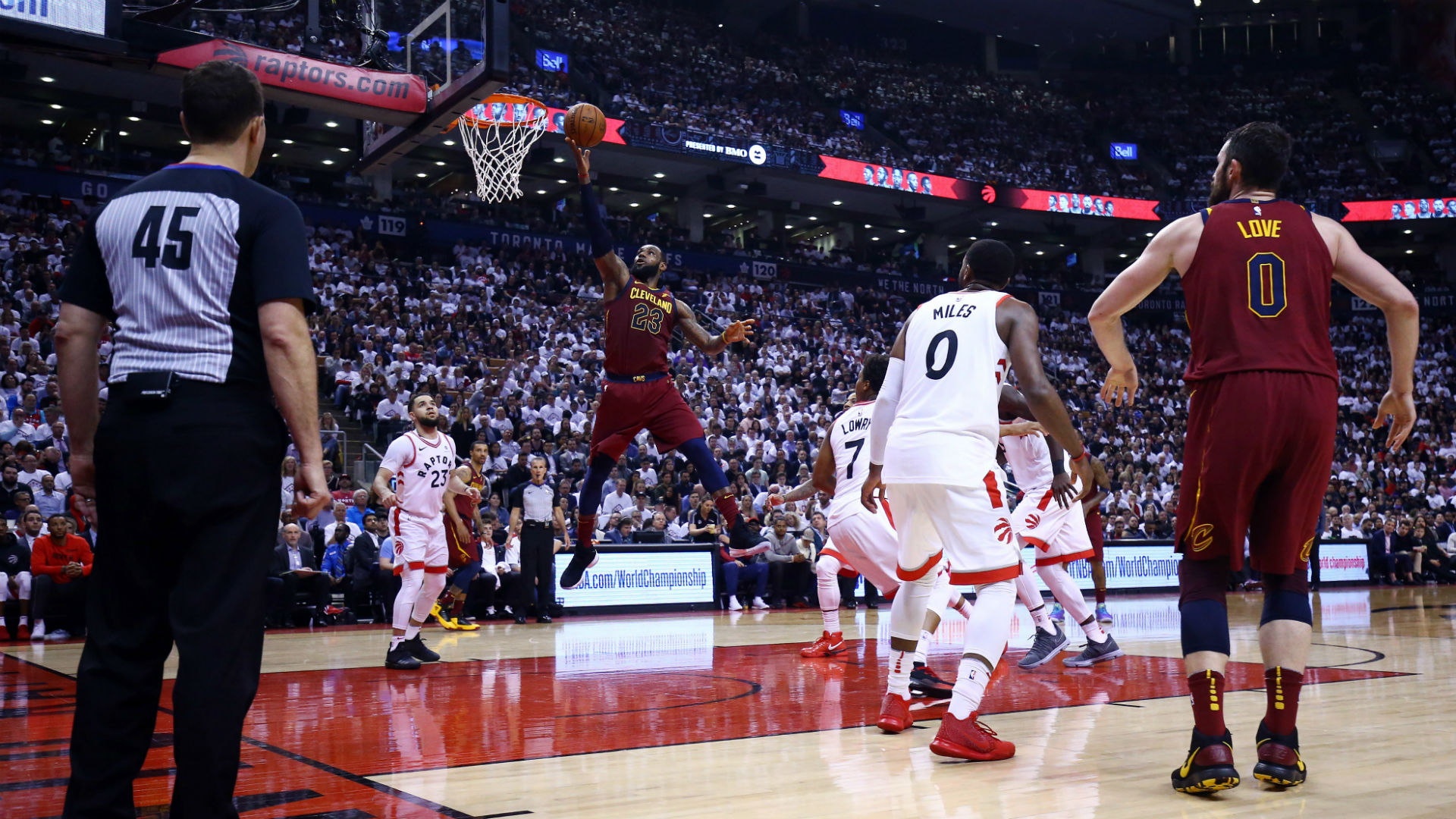 Why is Cavs-Raptors Game 2 so early?