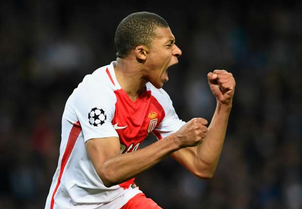 Monaco youngster Kylian Mbappe