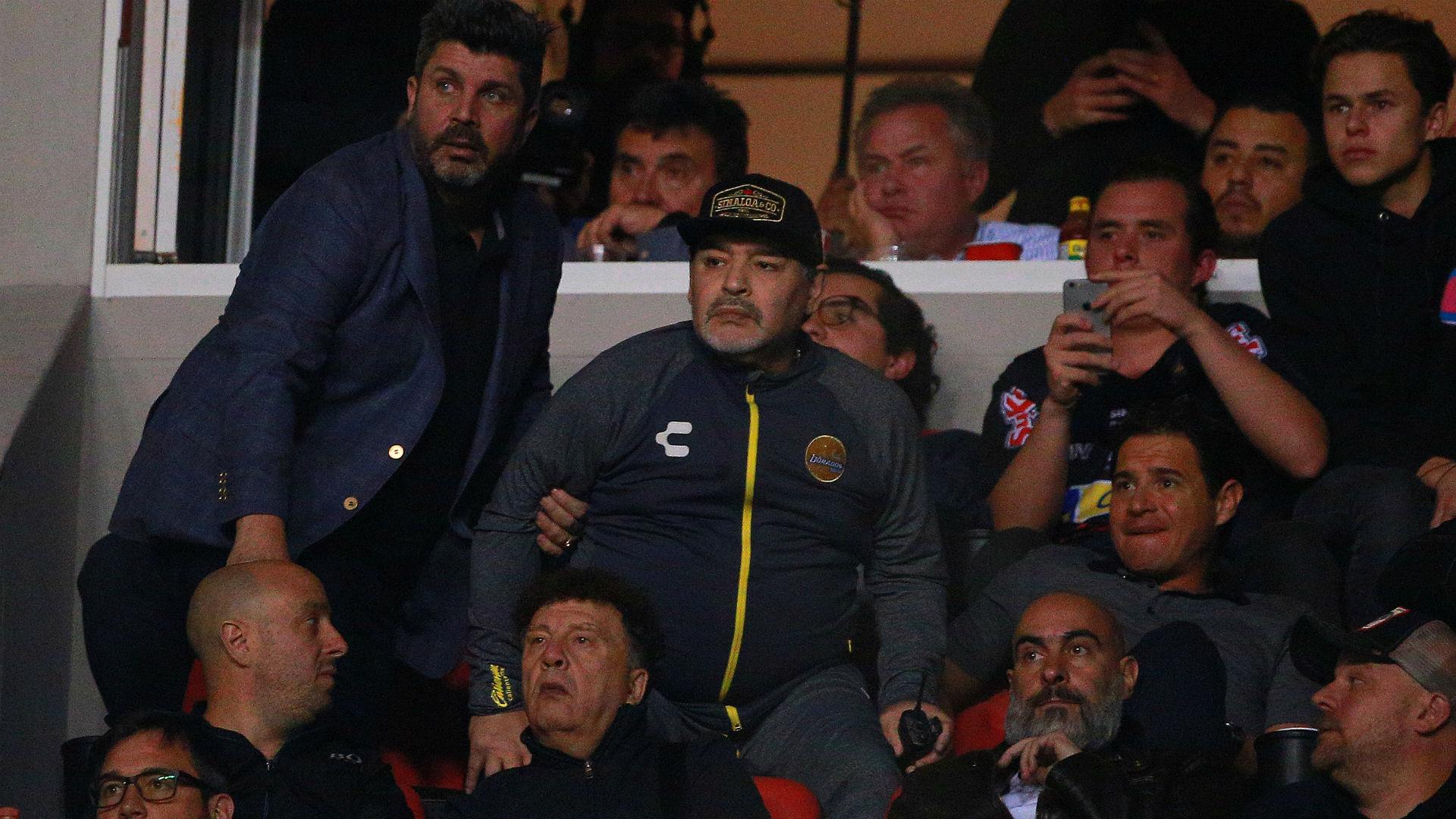 Maradona involved in fracas after Dorados' promotion hopes end