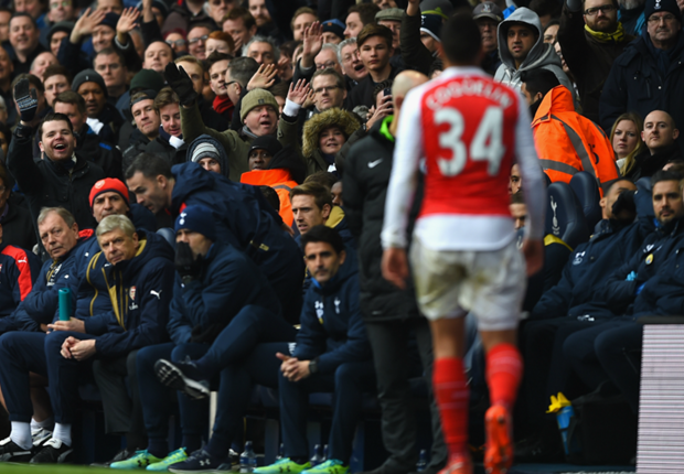Coquelin 'really sorry' for north London derby dismissal