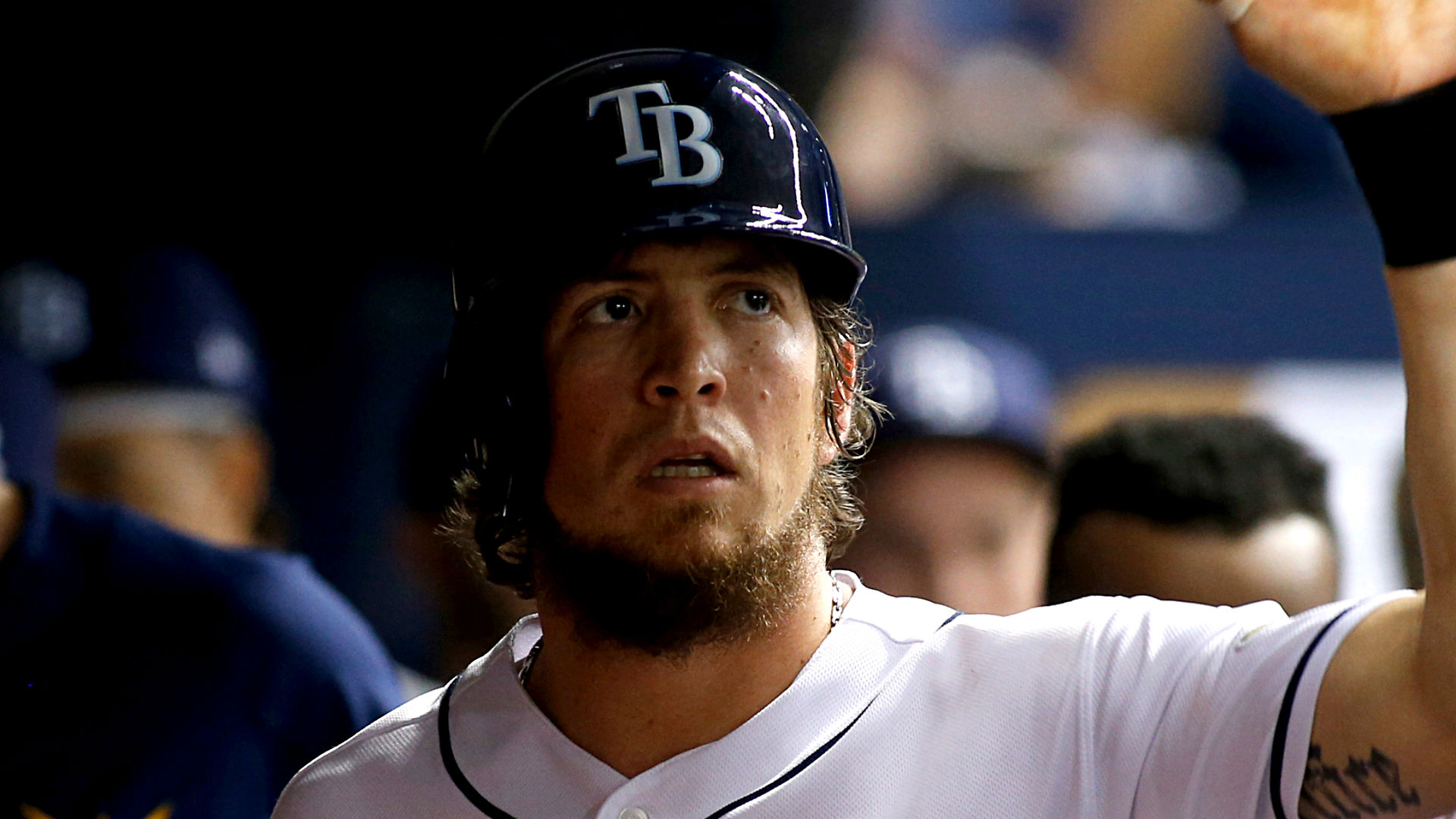 Teammates reach out to Colby Rasmus — Rays journal