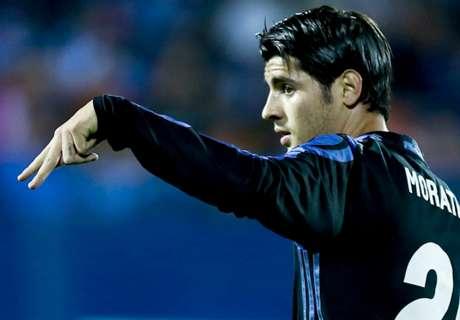 Morata hat-trick ends 8-year streak