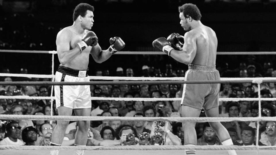 George Foreman On Muhammad Ali I Keep Seeing His Face Like Nothing