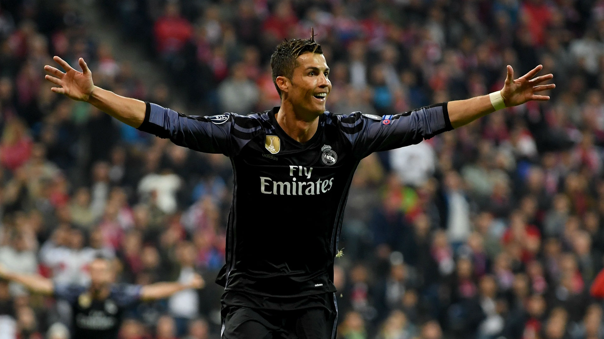 Ronaldo landmark as Madrid wins 2-1, ends Bayern record run