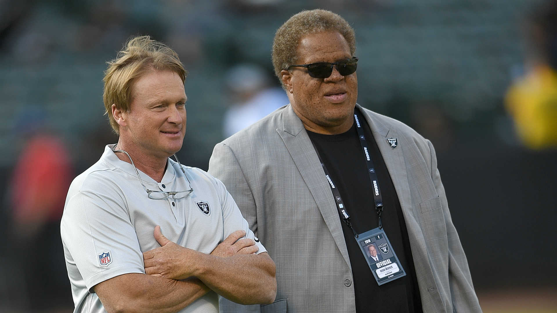 Ex-Raiders GM Reggie McKenzie backed by NFL panel for future jobs, report says