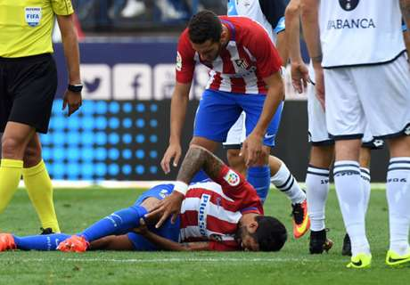 Injury blow for Atleti's Augusto