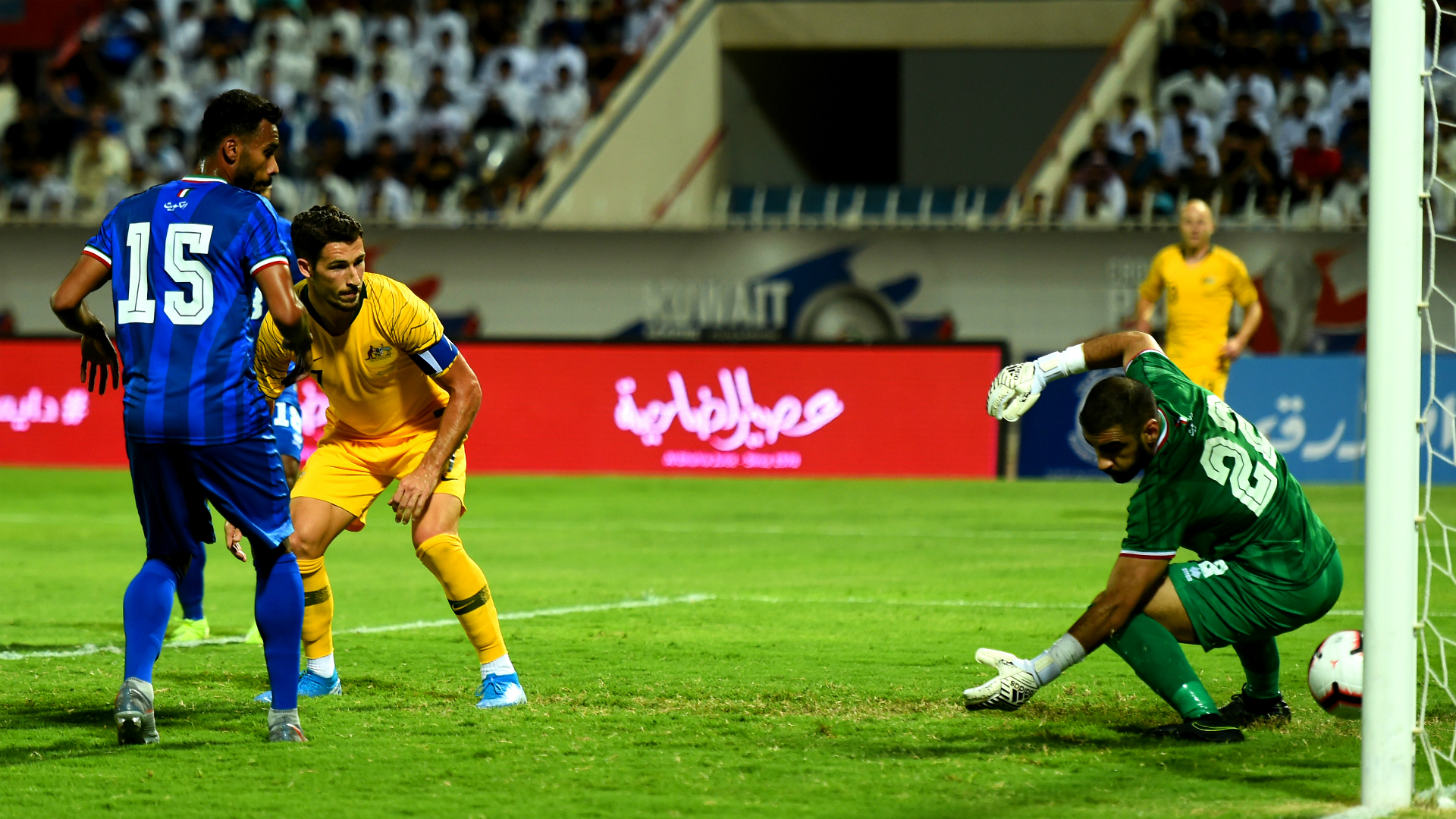 Kuwait 0-3 Australia: Socceroos cruise as Leckie grabs double