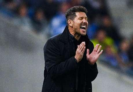 Simeone hails clinical Atletico