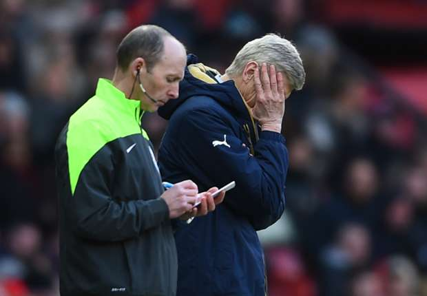 Wenger wants technology to aid offside calls