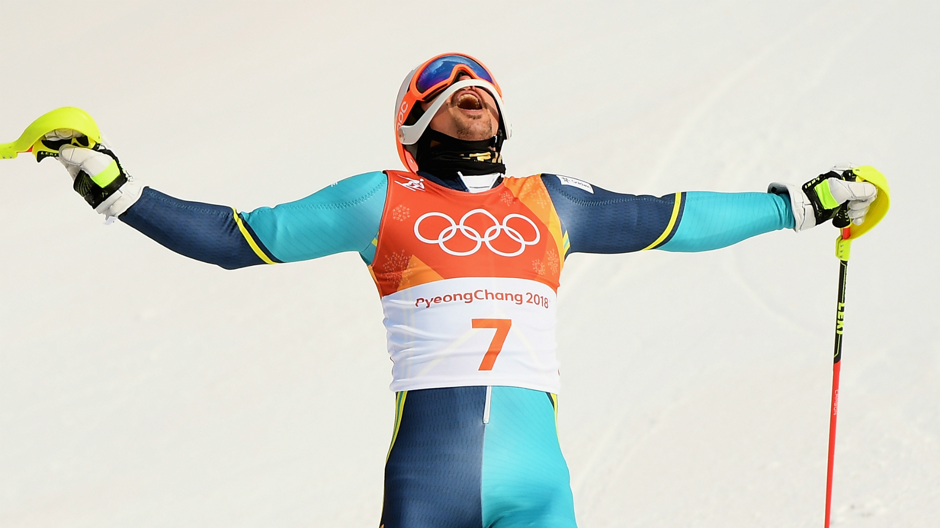 Olympics: Sweden's Myhrer wins gold in men's slalom
