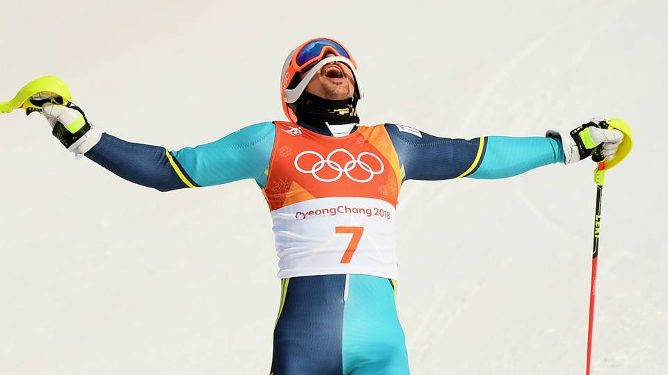 Winter Olympics 2018: Andre Myhrer claims Sweden's first ...