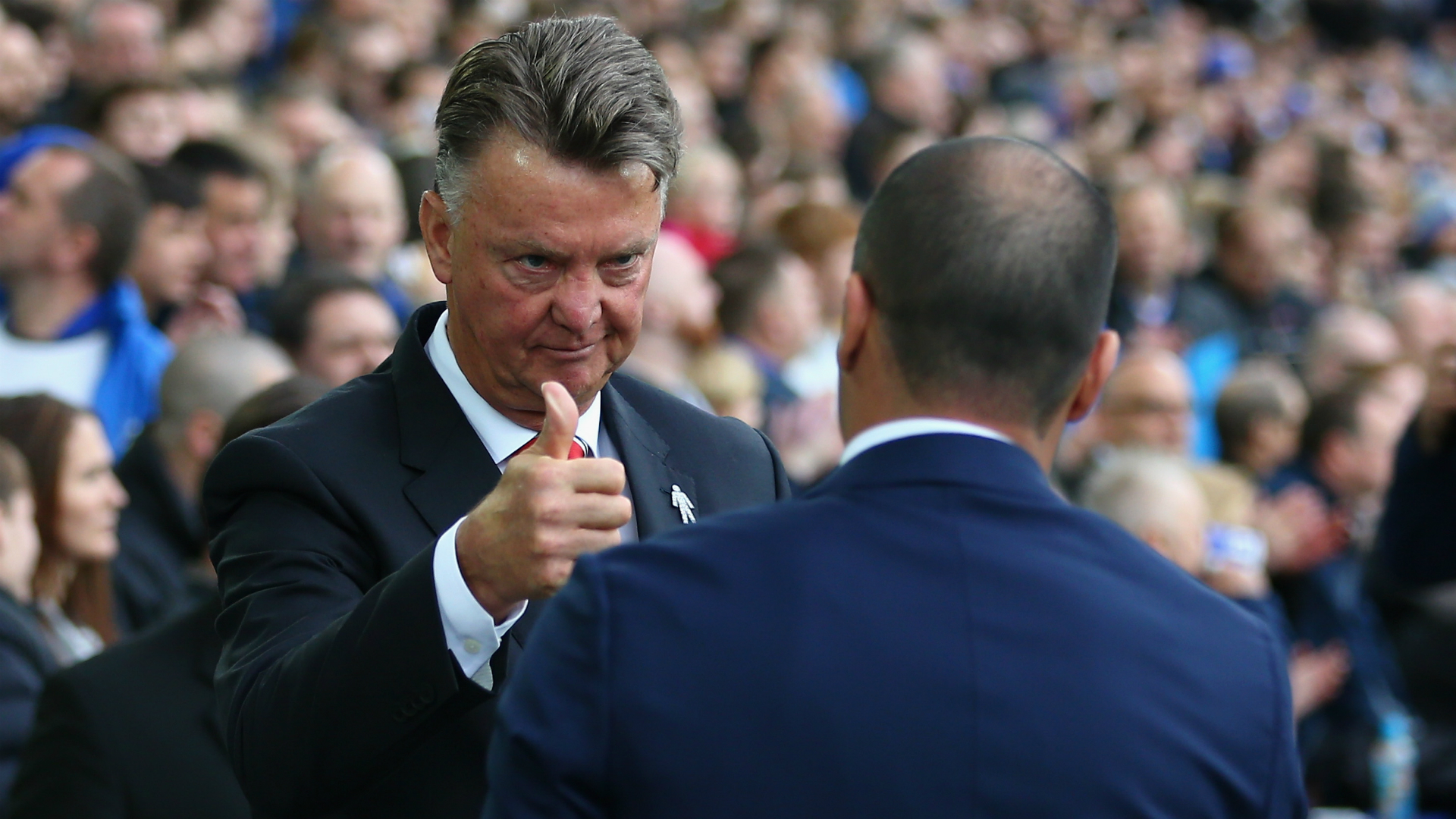 Is Van Gaal right about Man United catching Arsenal?